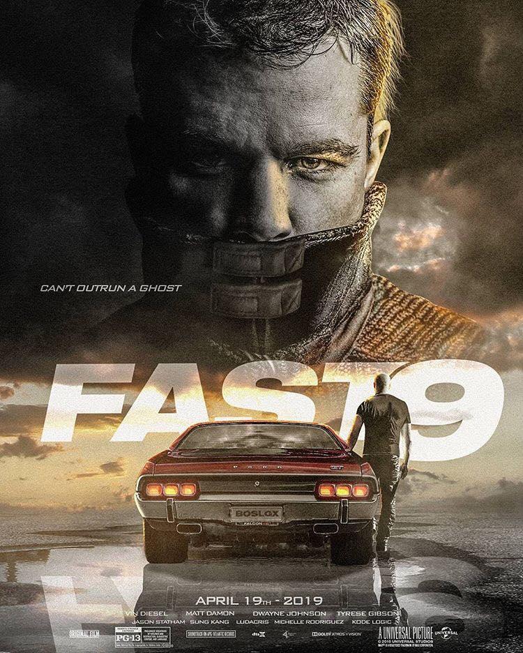 Matt Damon será uma das novidades de Velozes e Furiosos 9?